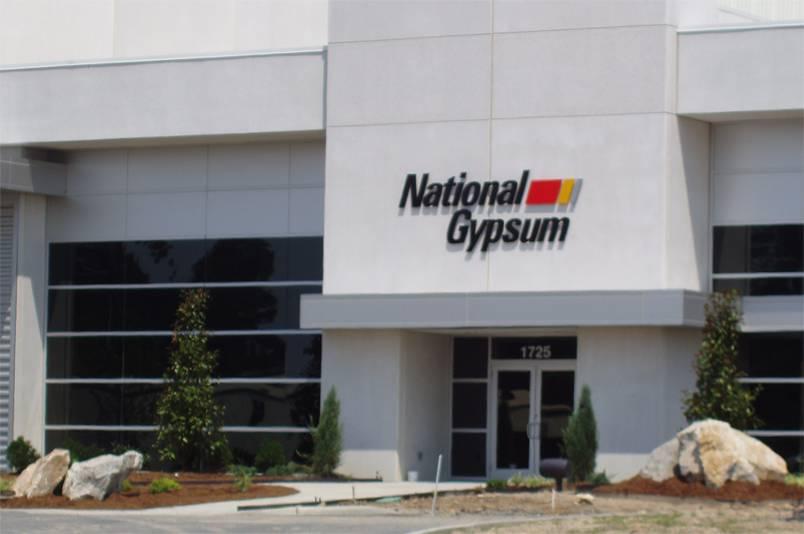 National Gypsum Wallboard Plant, Mount Holly NC - Galvan