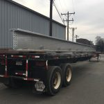 Galvan Double Dips Structural Steel For New Poultry Processing Plant